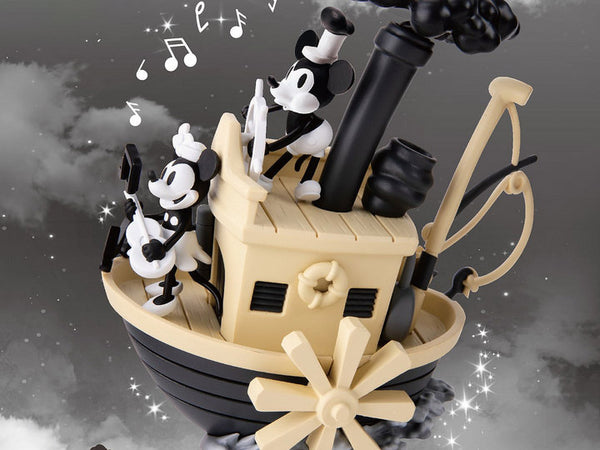 Disney D-Stage DS-017 Steamboat Willie PX Previews Exclusive Statue -maximus collectors toys and gifts