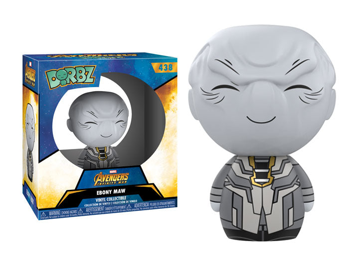 Dorbz Marvel Avengers: Infinity War - Ebony Maw - Maximus Collectors Toys & Gifts