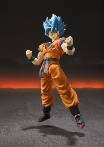 Dragon Ball Super S.H.Figuarts Super Saiyan God Super Saiyan Goku- maximus collectors toys and gifts