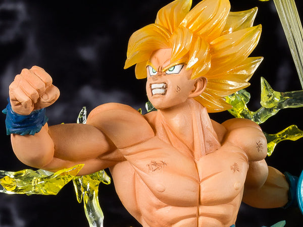 Dragon Ball Z FiguartsZERO Super Saiyan Goku (The Burning Battles) Maximus Collectors Statue Figure