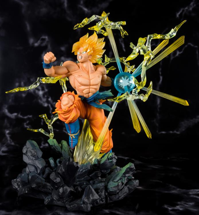 Dragon Ball Z FiguartsZERO Super Saiyan Goku (The Burning Battles) Maximus Collectors toys and gifts