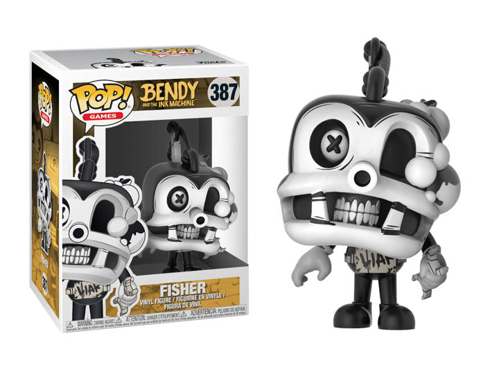 Pop! Games: Bendy and the Ink Machine - Fisher-Maximus Collectors