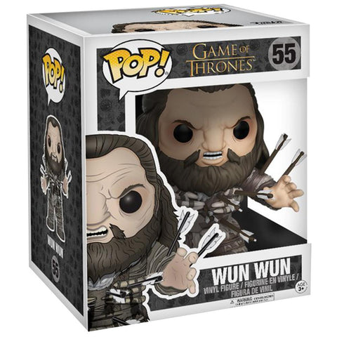 Funko Pop! Game of Thrones Wun Wun Super Sized 6 inch Figure