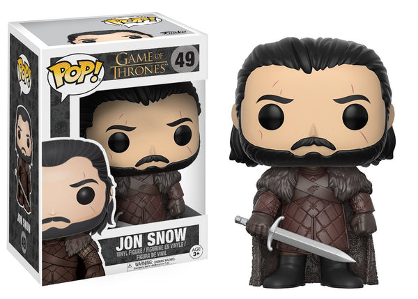 Funko Pop! Game of Thrones Jon Snow (Season Six) Figure - Maximus Collectors Toys & Gifts