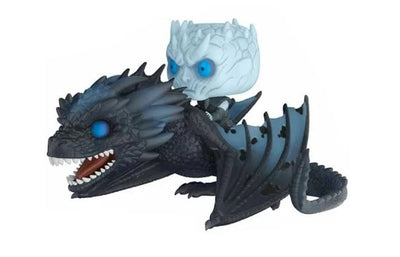 Funko Pop! Game of Thrones Night King on Icy Viserion - Maximus Collectors Toys & Gifts