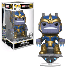Funko Pop Marvel Thanos with Throne The First Ten Years - Maximus Collectors