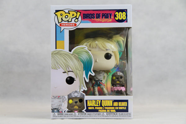 Birds of Prey Harley Quinn w/ Beaver Funko Pop! Vinyl Figure #308