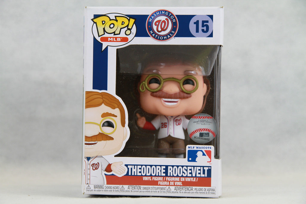 Funko POP: MLB - Washington Nationals Theodore Roosevelt Mascot 15