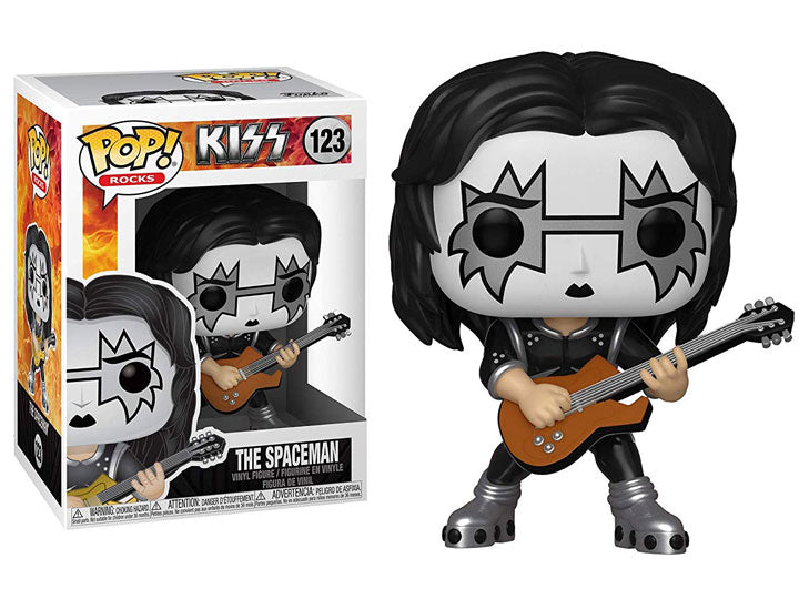 Pop! Rocks: KISS - The Spaceman-Maximus Collectors