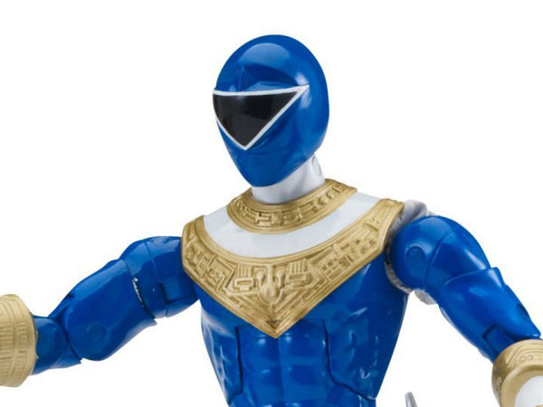 "Power Rangers Zeo Legacy 6"" Blue Ranger Action Figure - Maximus Collectors Toys & Gifts"