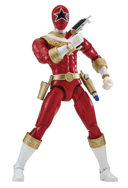 "Power Rangers Zeo Legacy 6"" Red Ranger Action Figure - Maximus Collectors Toys & Gifts"