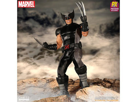 Mezco Toys One:12 Marvel X-Force Wolverine Action Figure
