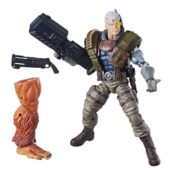 Marvel Legends Cable Action Figure with Sasquatch BAF - Maximus Collectors Toys & Gifts