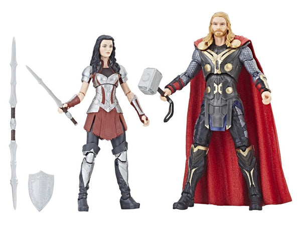 Marvel Studios: The First Ten Years Marvel Legends Thor & Sif Two-Pack - Maximus Collectors Toys & Gifts