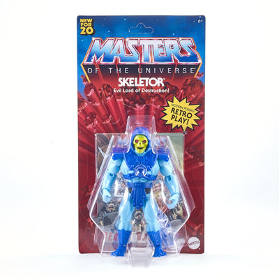 Masters of the Universe Origins Skeletor Action Figure Modern Retro Play