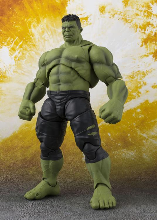 Avengers: Infinity War S.H.Figuarts Hulk Action Figure - maximus collectors toys and gifts