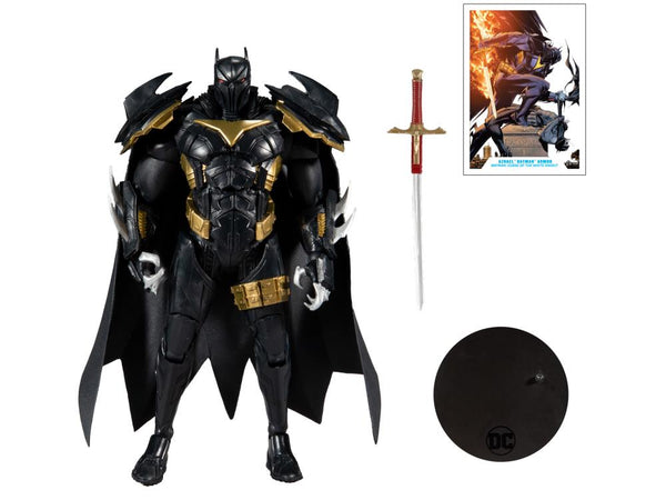 DC Multiverse Curse of the White Knight Azrael Batman Armor Action Figure