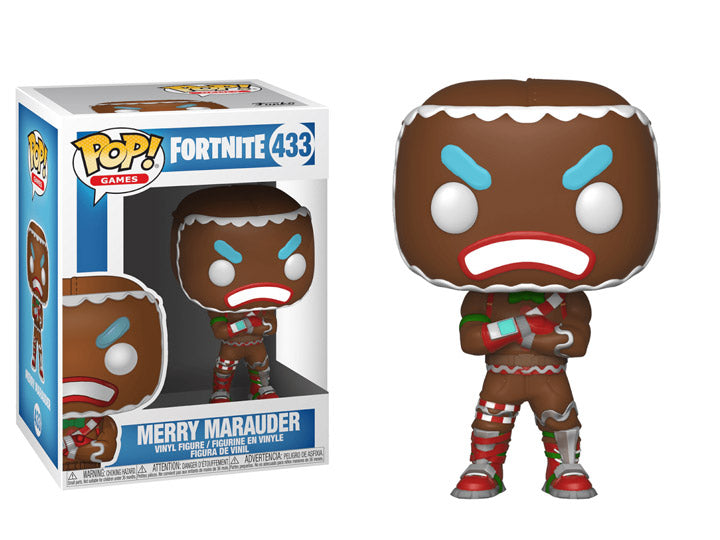 Pop! Games: Fortnite Merry Marauder - Maximus Collectors Toys & Gifts