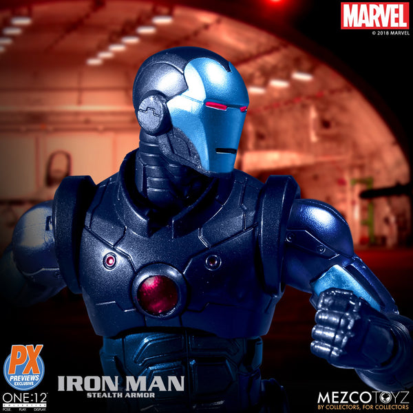 Marvel One:12 Collective Marvel Stealth Iron Man PX Previews Exclusive - Maximus Collectors Toys & Gifts