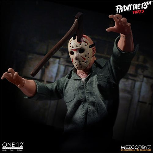 Mezco One:12 Collective Jason Voorhees Friday the 13th Action Figure Pre-Order - Maximus Collectors Toys & Gifts