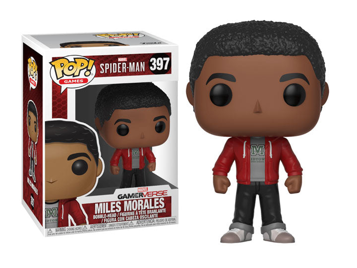 Funko Pop! Games Marvel's Spider-Man Miles Morales-Maximus Collectors
