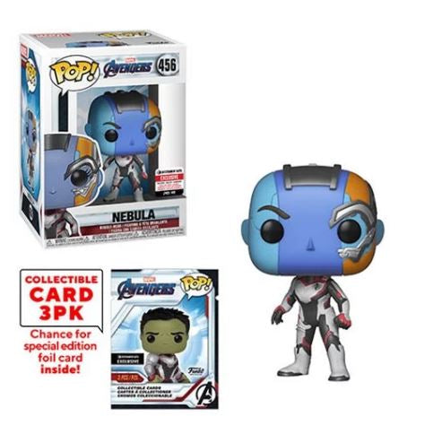 Avengers: Endgame Nebula Pop! Vinyl Figure with Collector Cards - Entertainment Earth Exclusive - maximus cololectors toys and gifts
