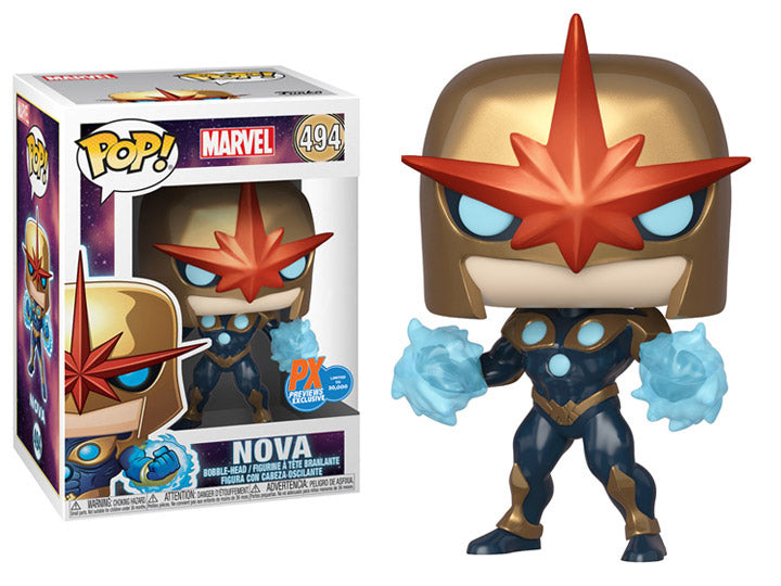 Pop! Marvel: Nova Prime PX Previews Limited Edition Exclusive-Maximus Collectors