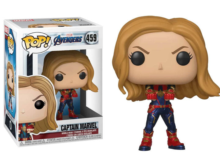 Pop! Marvel: Avengers: Endgame - Captain Marvel-Maximus Collectors