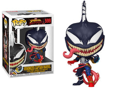 Funko Pop! Marvel: Max Venom - Venomized Captain Marvel - Maximus Collectors