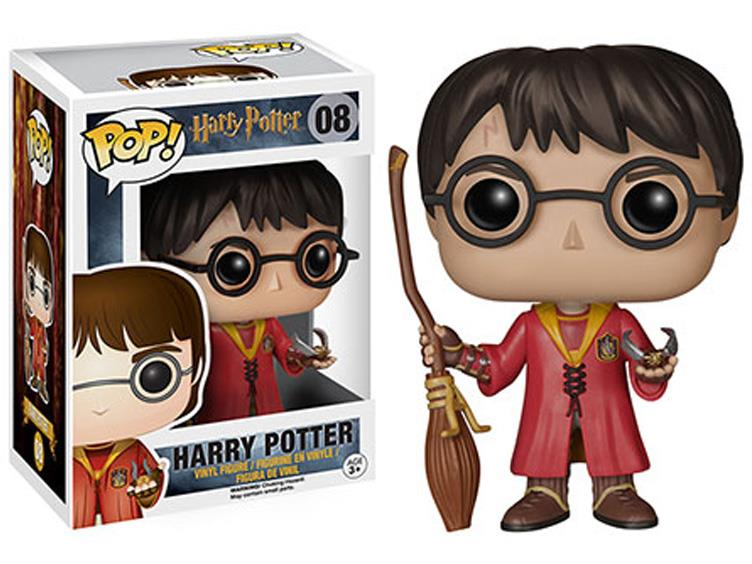 Pop! Movies: Harry Potter - Harry Potter Quidditch Player-Maximus Collectors