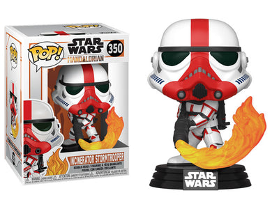 Pop! Star Wars: The Mandalorian - Incinerator Stormtrooper - Maximus Collectors