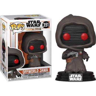 Funko Pop! Star Wars The Mandalorian Offworld Jawa Vinyl Bobble-Head - Maximus Collectors