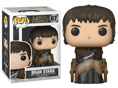 Pop! TV: Game of Thrones - Bran Stark (In Chair)-Maximus Collectors