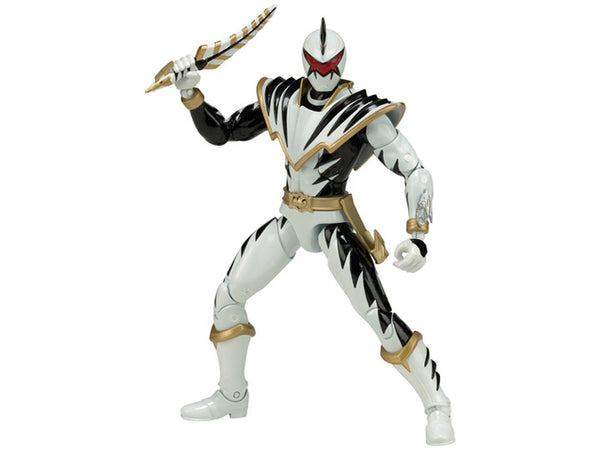 "Power Rangers Dino Thunder Legacy 6"" White Ranger"