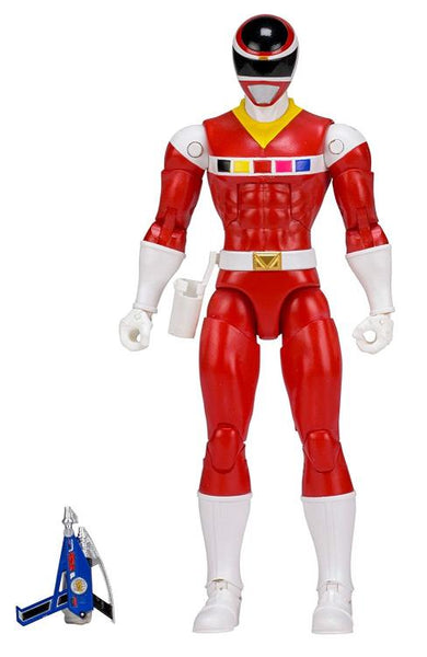 "Power Rangers In Space Legacy 6"" Red Ranger-Maximus Collectors"