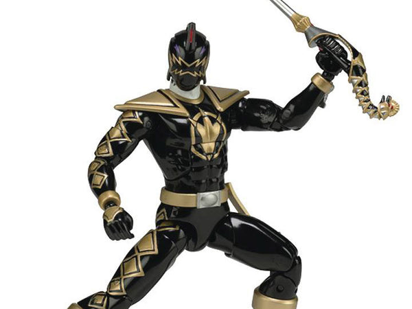 "Power Rangers Dino Thunder Legacy 6"" Black Ranger Action Figure - Maximus Collectors Toys & Gifts"