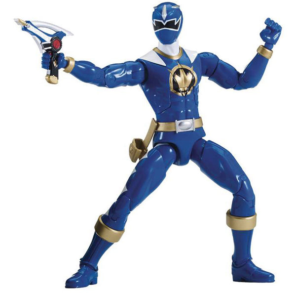 "Power Rangers Dino Thunder Legacy 6"" Blue Ranger Action Figure - Maximus Collectors Toys & Gifts"