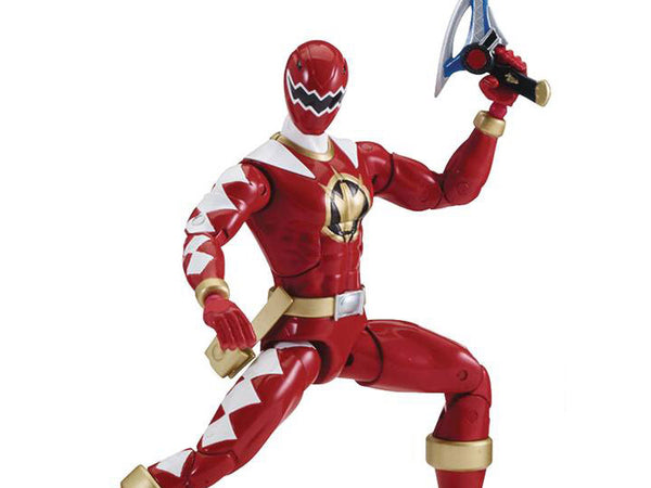 "Power Rangers Dino Thunder Legacy 6"" Red Ranger Action Figure - Maximus Collectors Toys & Gifts"