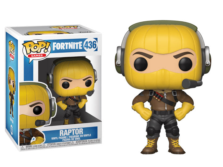 Funko Pop! Games: Fortnite Raptor-Maximus Collectors