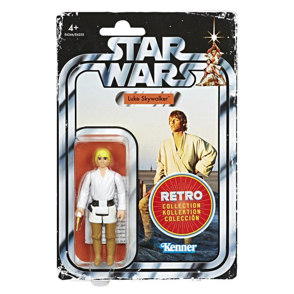 Star Wars Retro Collection Luke Skywalker (A New Hope)-Maximus Collectors
