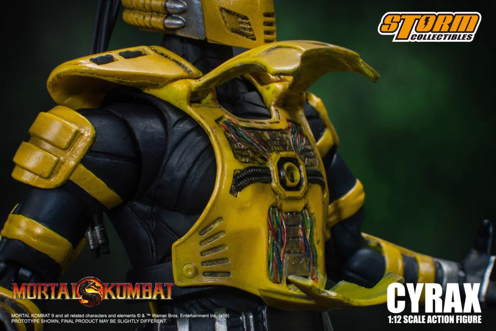 Mortal Kombat Vs Series Cyrax 1 12 Scale Figure Maximus Collectors Toys Gifts Making his debut in mortal kombat 3, cyrax was one of the three cybernetic ninjas created by the. maximus collectors