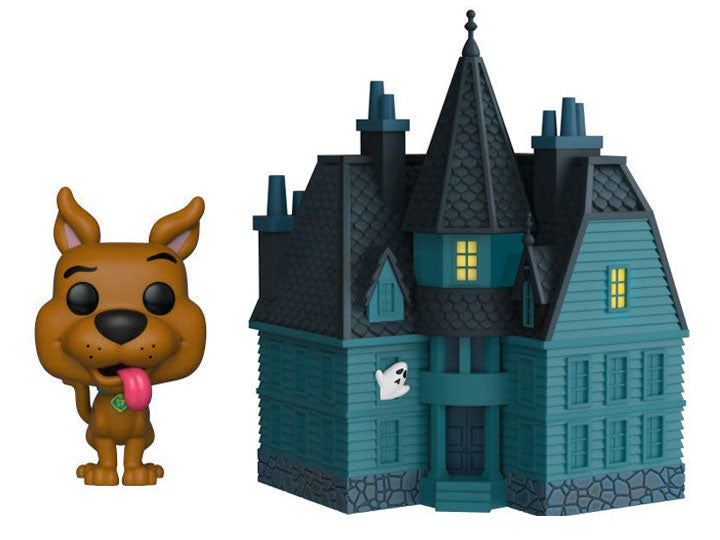 Pop! Town: Scooby-Doo - Scooby-Doo with Haunted Mansion-Maximus Collectors