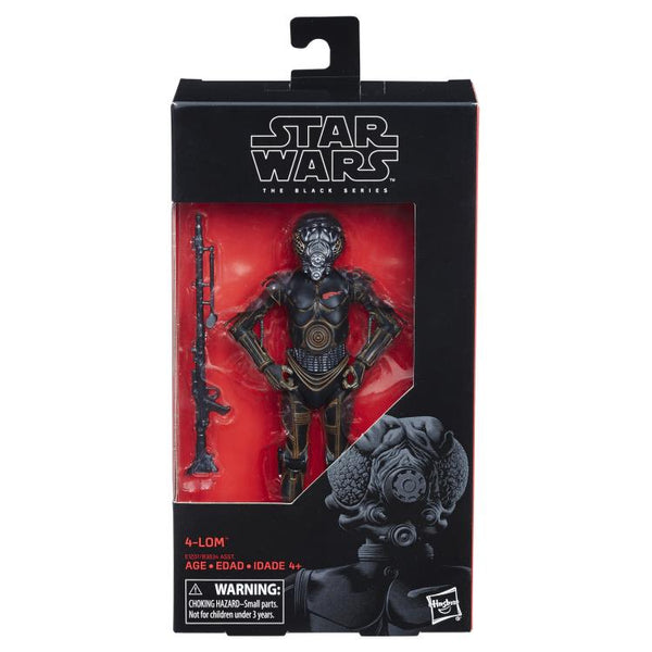 "Star Wars: The Black Series 6"" 4-LOM (The Empire Strikes Back)-Maximus Collectors"