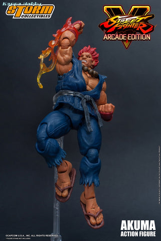 Storm Collectibles Street Fighter 1/12 Akuma Arcade Nostalgia Costume Action Figure