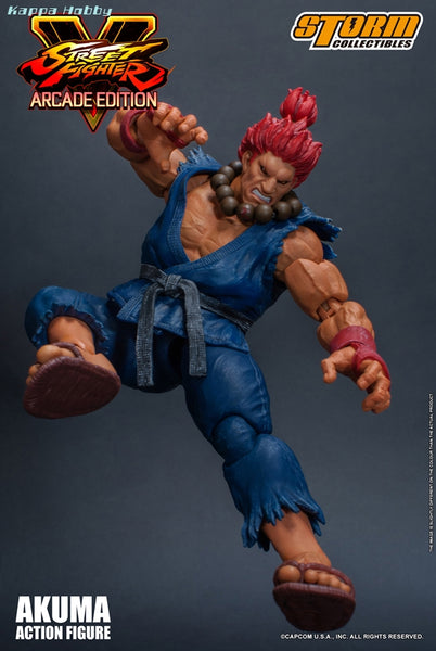 Storm Collectibles Street Fighter 1/12 Akuma Arcade Nostalgia Costume Action Figure - Maximus Collectors Toys & Gifts