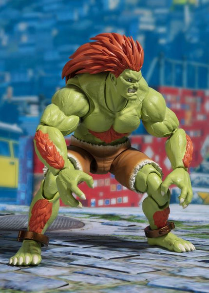 Street Fighter S.H.Figuarts Blanka 6 inch Action Figure-Maximus Collectors