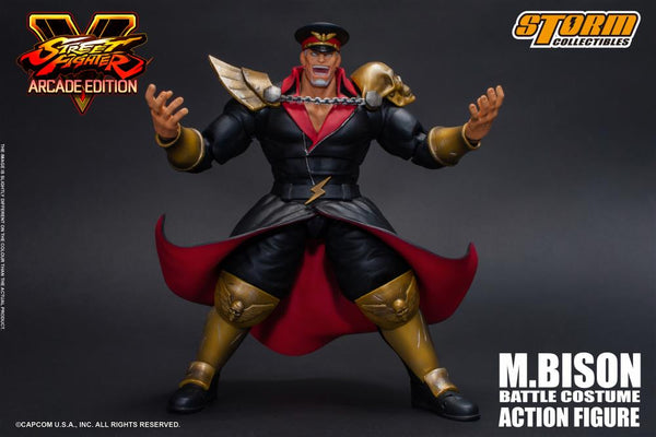 Street Fighter V M. Bison (Arcade Edition) 1/12 Scale Figure-Maximus Collectors