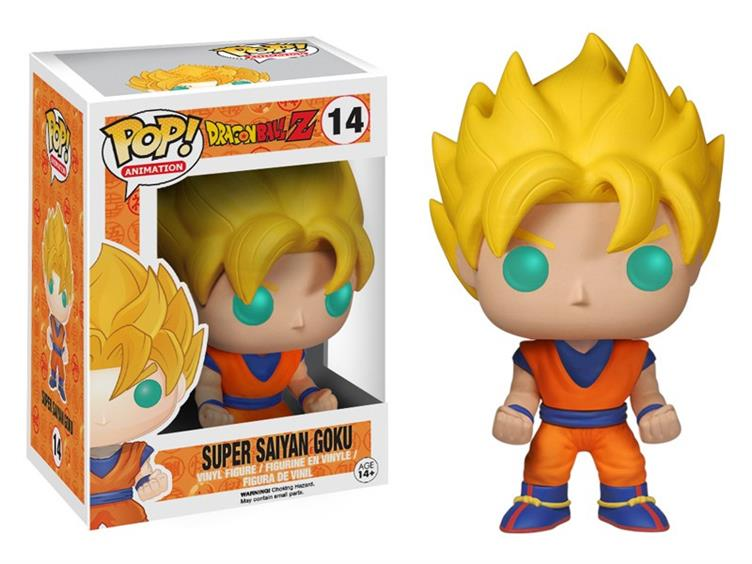 Funko Pop! Animation: Dragon Ball Z Super Saiyan Goku-Maximus Collectors