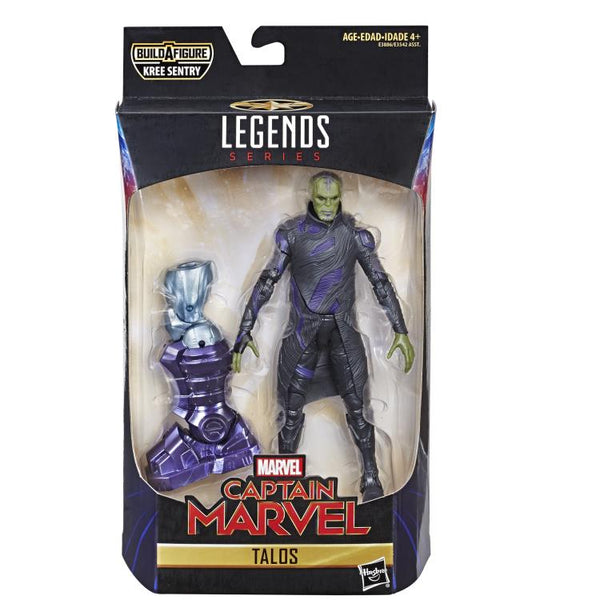 Captain Marvel Marvel Legends Talos (Kree Sentry BAF) maximus collectors toys and gifts
