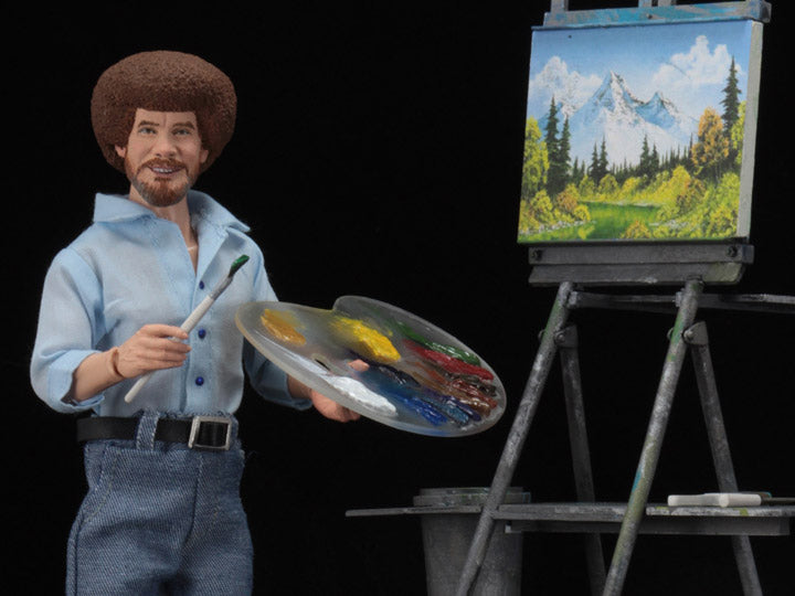 The Joy of Painting Bob Ross Figure-Maximus Collectors